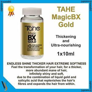 TAHE MagicBX Gold Long lasting Hiar Thickening Ultra-nourishing Repair 1x10ml
