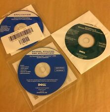 3 NEW DELL INSTALLATION/REINSTALLING CD'S ROXIO EASY CREATOR 5.2 BASIC & 2 MORE