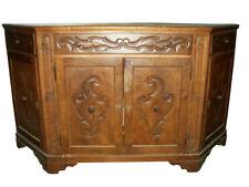 antica CREDENZA italiana SCANTONATA VENETA legno di CILIEGIO stile OTTOCENTO