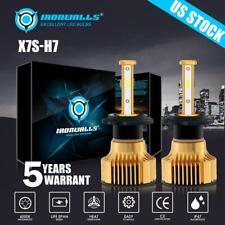 4 Sides H7 LED Headlight Bulb Conversion Kit High Low Beam Fog Lamp 6000K White