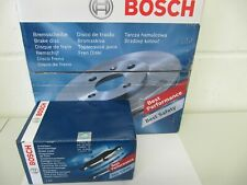 Bosch Brake Discs and Pads Ford Focus I Lim. and Combi Set for Rear