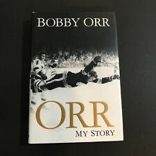Bobby Orr Signed Book Autographed Orr My Story Hardcover Boston Bruins JSA