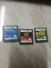 Nintendo DS Games, My Sims SkyHeroes, Star Wars the Clone Wars, My Reading Tutor