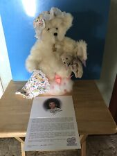 """Annette Funicello Bear: """"Dream Keeper�w/ Coa And Stand—-No Box: Lmt Edition 12�"""