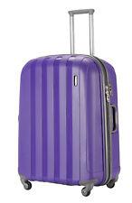 """Luggage X 77 cm (30"""") Suitcase Extra Large Lightweight Hard Sided Purple"""