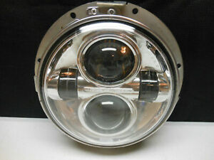 """OEM HARLEY '14-21 TOURING 7"""" LED DAYMAKER PROJECTOR HEAD LIGHT LAMP HID"""
