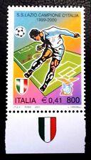 ITALIA 2000 2434 DEPORTES FUTBOL LAZIO CAMPEON DE ITALIA 1v.