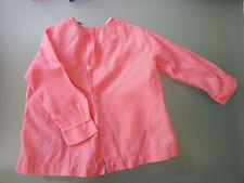 Chemise rose LM protection vêtements enfant bricolage peinture motif oiseaux