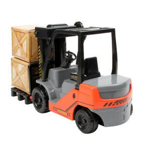 Diecast Model Fork Lift Truck Engineering Vehicle Toy Gift 1:22 Scale