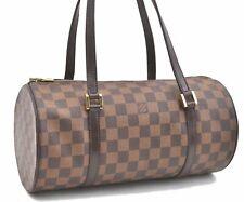 Authentic Louis Vuitton Damier Papillon 30 Hand Bag LV A4172