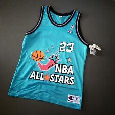 100% Authentic Michael Jordan Vintage Champion 1996 All Star Jersey Size 40 M