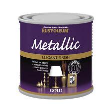 x 1 Rust-Oleum multiusos Premium Cepillo Pintura Interior y dorado metálico