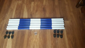 Dog Agility Jump Cups Poles & Screws for Pet Obedience Training Sports Cavaletti