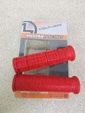 MOOSE RED ATV GRIPS HONDA TRX250EX TRX300EX TRX400EX 400EX TRX450R TRX 400 450