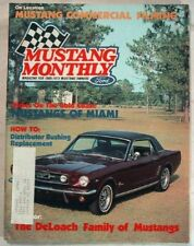 MUSTANG MONTHLY 1984 SEPT - HARDTOPS, FORD FILMING