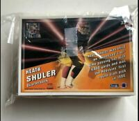 1993 PACIFIC TRADING CARDS TRI-FOLD FOOTBALL NFL CARDS 1-33 SET