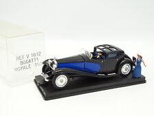 Verem 1/43 - Bugatti Royale 1930 Noire et Bleue + Figurines