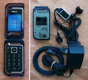 Original Nokia 7270 flip Mobile Phone GOOD CONDITION made in Finland (no 7200)