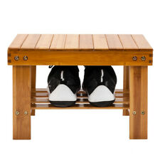 Bamboo Children Bench Safe Stool Chair Foot Rest Fishing Small Step Stool Wood