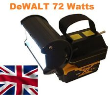 DeWalt 18v LED work light Torch with a massive 72 watts of power
