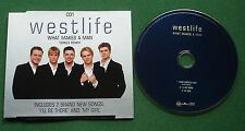Westlife What Makes A Man (Single Remix) CD1 / My Girl + CD Single