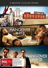 The Hangover 3-movie DVD NEW Part 1 II III Region 4