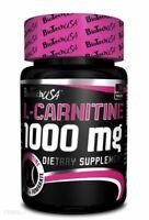 BiotechUSA L-Carnitine 1000mg - 30 / 60 Tabs - Fat Loss Diet Slimming