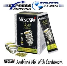 Instant Nescafe Arabiana Arabic Coffee Mix With Cardamom Flavor - Small Sticks