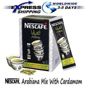 Instant Nescafe Arabiana Arabic Coffee Mix With Cardamom Flavor - Small Sticks