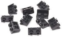 LEGO - 10 x Winkel Konverter invers schwarz 1x2 auf 1x2 / 99780 NEUWARE