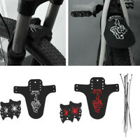 Mountain Bike Fenders Front Rear MTB Bicycle Mudguard Tire Mud Guards -Black