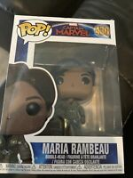 Funko POP! Maria Rambeau #430 Captain Marvel Bobble Head Vinyl Figure New