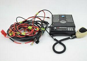 Motorola XTL5000 Radio Control Unit M20URS9PW1AN System w/ Cords 764-870 MHz