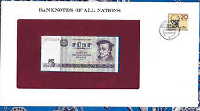 Banknotes of All Nations GDR East Germany 1975 5 Mark UNC P 27a IH003694 Low