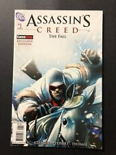 Assassin's Creed: The Fall #1 Comic Book Game Stop Exclusive DC LOW PRINT FN/VF