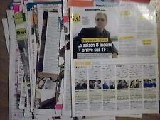 lot de coupures de presse Les experts CSI Miami