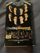 One Step Beyond Special Edition 2001 VHS ADIO Skateboard Bam Margera Tony Hawk