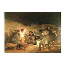 FRANCISCO DE GOYA - EXECUTION OF THE DEFENDERS OF MADRID 3rd MAY 1808 - POSTCARD