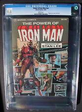 POWER OF IRON MAN #NN 1984 TPB Collects 120-128 Layton Romita Jr ALCOHOL CGC 9.8