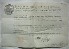 Lenzburg. Suisse. Lausanne. Friburgi Helvet. 28 février 1795.