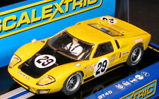 SCALEXTRIC C3211 FORD GT40 MKII WITH WORKING HEADLIGHTS   1/32 SLOT CAR