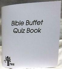 Bible Buffet Quiz Book [Manual] [Wisdom Tree] [Nintendo NES]