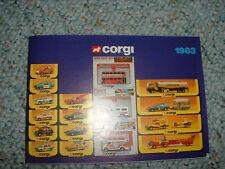 Corgi 1983  Catalog Catalogue