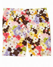 Gymboree glamour safari flower bermuda short size 12