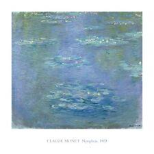 IMPRESSIONISM ART PRINT: Nympheas, 1903 by Claude Monet 40x40 Huge Museum Poster