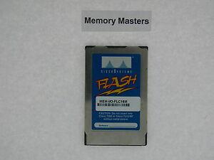 MEM-I/O-FLC16M 16MB Approved PCMCIA FLASH Memory for Cisco Cisco 7200 I/O