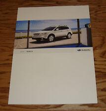 Original 2008 Subaru Tribeca Deluxe Sales Brochure 08