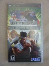 NEW Sega Genesis Collection Sony PSP Playstation Sonic Golden Axe Free Ship!!!