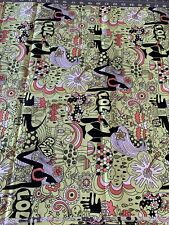 Look! Light Green Hawaiian Girl Fabric! Cute! 44� x 1 yd 17�