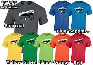 Lumipix Inspired Ford Mondeo MK1 Estate Mens Car T-Shirt Great Gift!